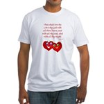 Hearts for God Fitted T-Shirt