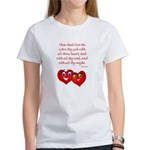 Hearts for God Women's T-Shirt