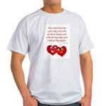 Hearts for God Light T-Shirt