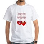 Hearts for God White T-Shirt