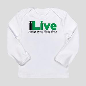 iLive Kidney Long Sleeve Infant T-Shirt