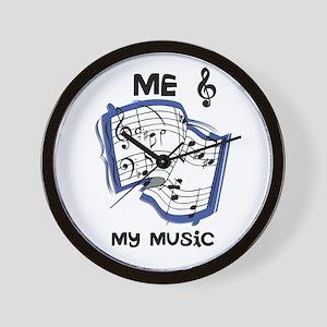 Me & My Music Wall Clock