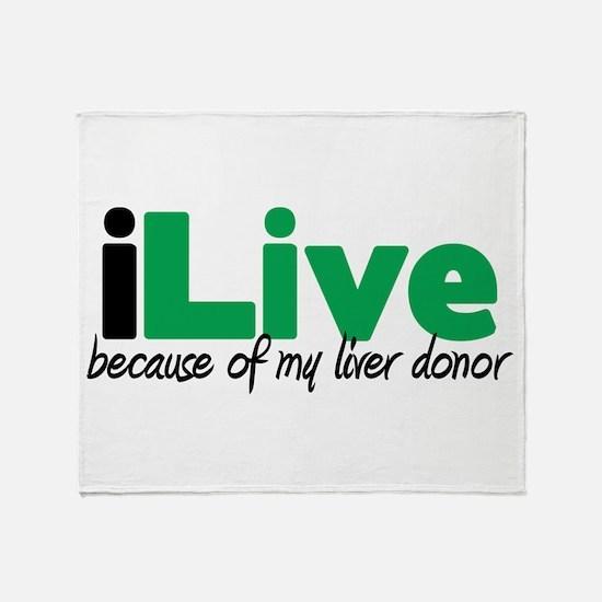 iLive Liver Throw Blanket