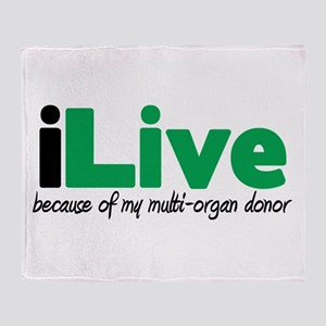 iLive Multi Organ Throw Blanket