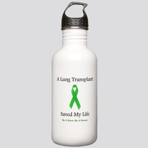 Lung Transplant Survivor Stainless Water Bottle 1.