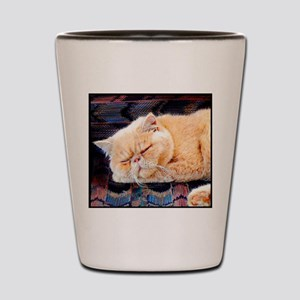 Persian Cat Shot Glass