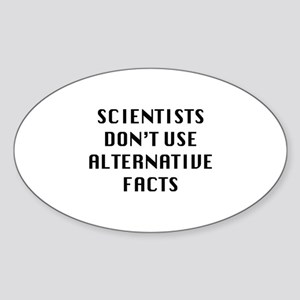 Scientists Sticker (Oval)