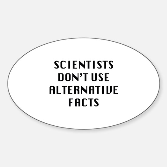 Scientists Sticker (Oval)