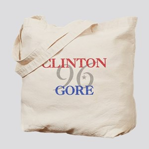 Clinton Gore 1996 Tote Bag