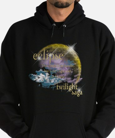 Jacob Quote Eclipse Clouds Hoodie (dark)