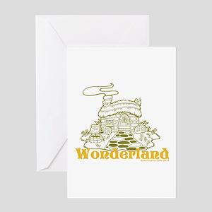 Wonderland Cottage Greeting Card