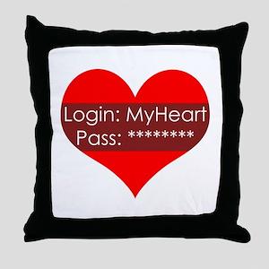 LogIn2 My Throw Pillow