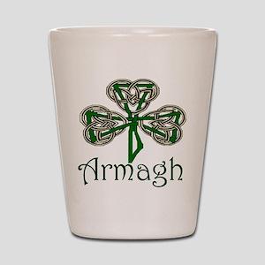Armagh Shamrock Shot Glass