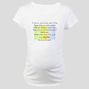 Nursing Student IV 2011 Maternity T-Shirt