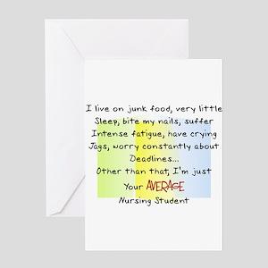 Nursing Student IV 2011 Greeting Card