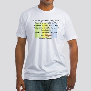 Nursing Student IV 2011 Fitted T-Shirt