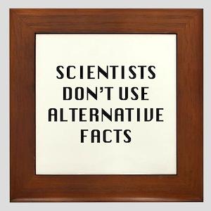 Scientists Framed Tile