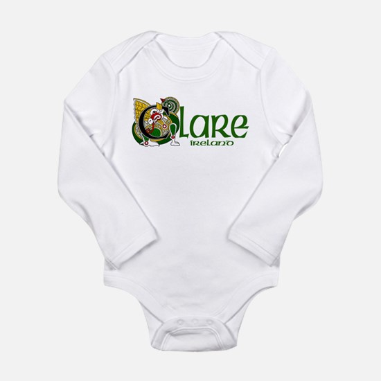 County Clare Long Sleeve Infant Bodysuit