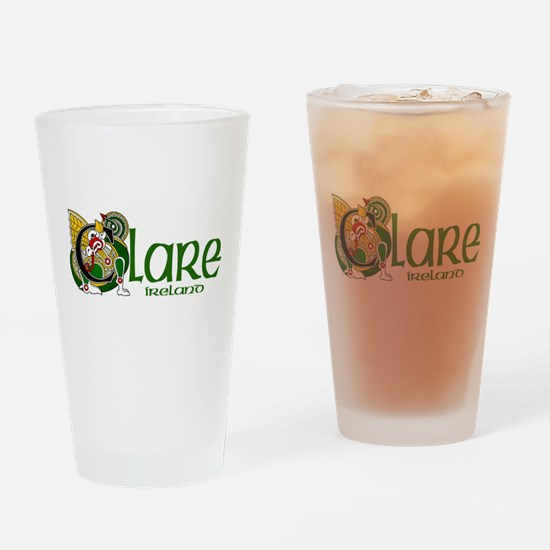 County Clare Pint Glass