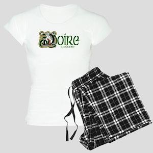 Derry Dragon (Gaelic) Women's Light Pajamas