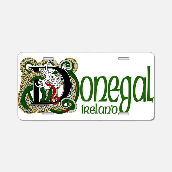 County Donegal Aluminum License Plate