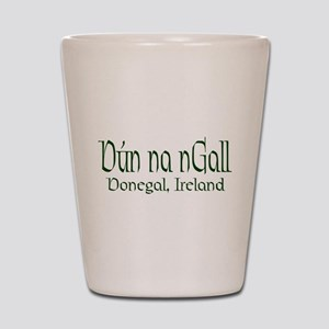 County Donegal (Gaelic) Shot Glass