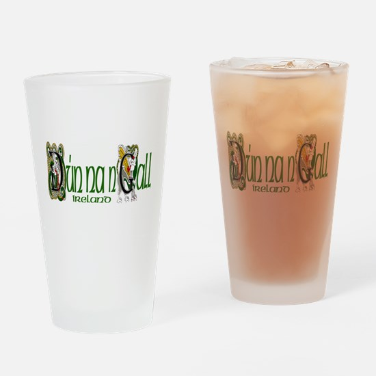 Donegal Dragon (Gaelic) Pint Glass