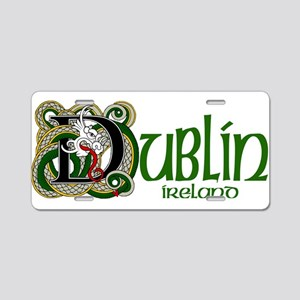 Dublin, Ireland Aluminum License Plate