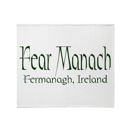 Fermanagh (Gaelic) Throw Blanket