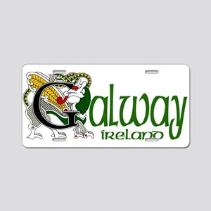 County Galway Aluminum License Plate