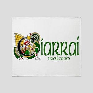 Kerry Dragon (Gaelic) Throw Blanket