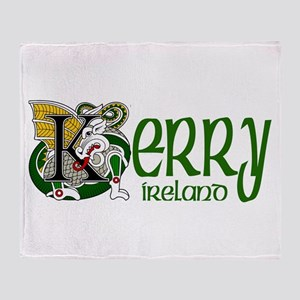 Kerry Celtic Dragon Throw Blanket