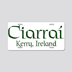 County Kerry (Gaelic) Aluminum License Plate