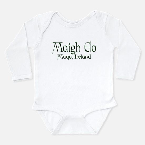 County Mayo (Gaelic) Long Sleeve Infant Bodysuit