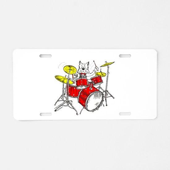 Catoons™ Aluminum License Plate