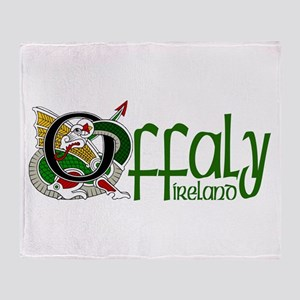 County Offaly Throw Blanket