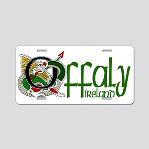 County Offaly Aluminum License Plate