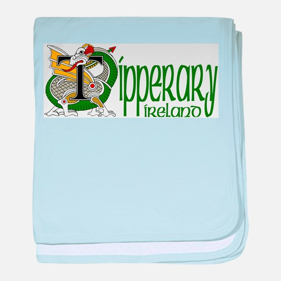 County Tipperary baby blanket