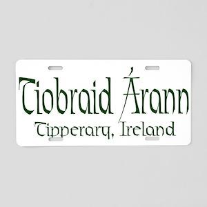 Tipperary (Gaelic) Aluminum License Plate