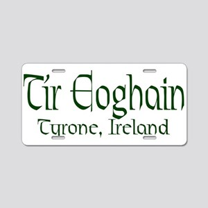 County Tyrone (Gaelic) Aluminum License Plate