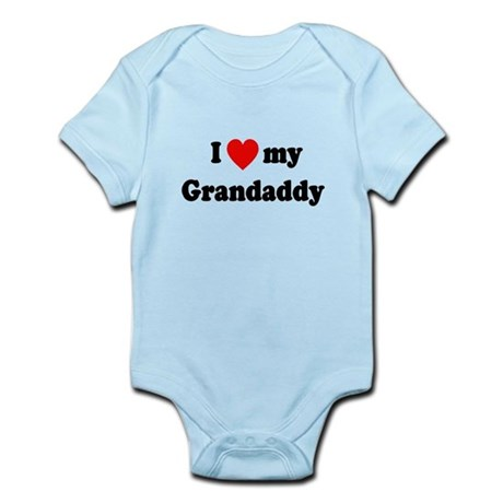 I Love My Grandaddy Infant Bodysuit