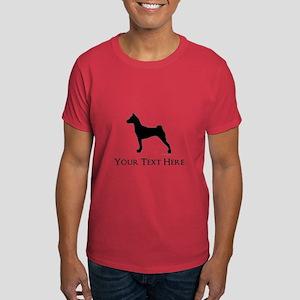 Basenji - Your Text! Dark T-Shirt