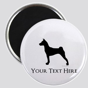 Basenji - Your Text! Magnet