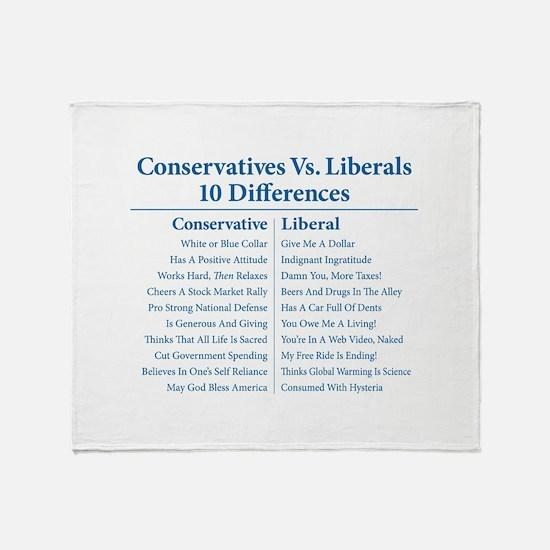 Conservatives Vs. Liberals 10 Differences Stadium