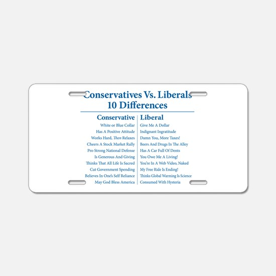 Conservatives Vs. Liberals 10 Differences Aluminum