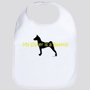 My Sister is a Basenji Bib