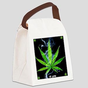 Smoke 4 Life Canvas Lunch Bag