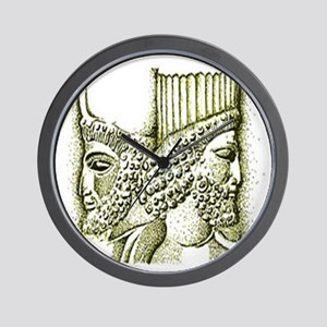 Cyrus & Darius Collection Wall Clock