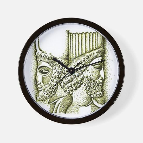 Cyrus & Darius Collection Wall Clock