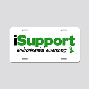 iSupport Environment Aluminum License Plate